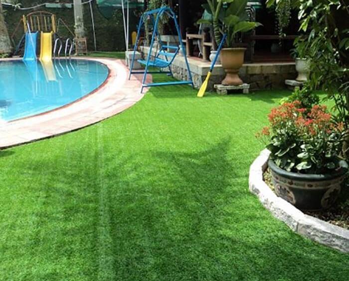Cỏ nhân tạo sân vườn 3cm