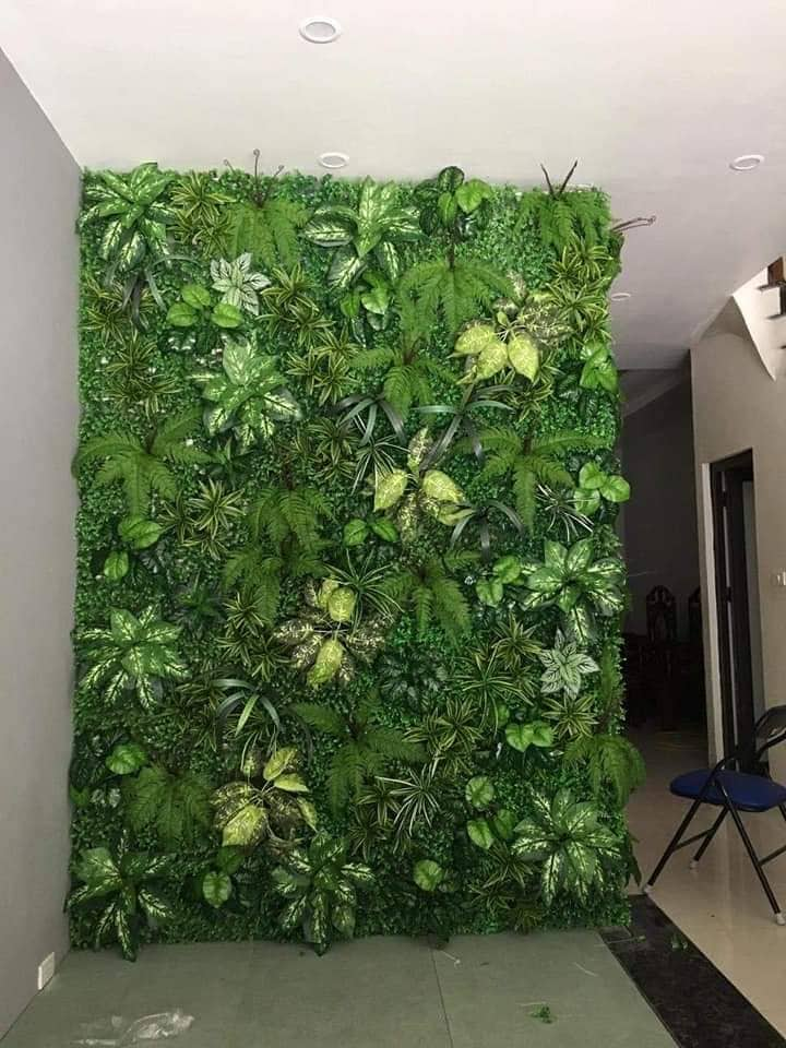 Cỏ nhân tạo trang trí tường  40cm*60cm